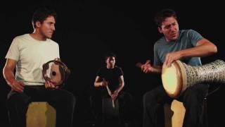 """Into The Fire"" - Yshai Afterman. Darbuka - Riqq Percussion dialogue."