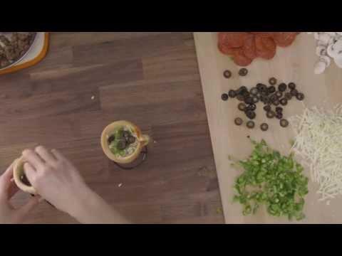 Household Mixer -  Pizza Cone Recipe