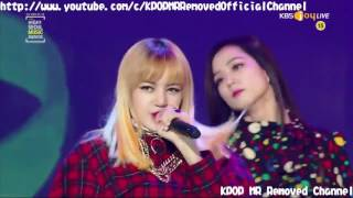 MR Removed 170119 BLACKPINK  PLAYING WITH FIRE 불장난 + BOOMBAYAH 붐바야 2017 Seoul Music Awards