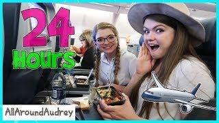 24 Hours On An Airplane  AllAroundAudrey