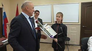 Команду уссурийских спортсменов поздравил глава округа