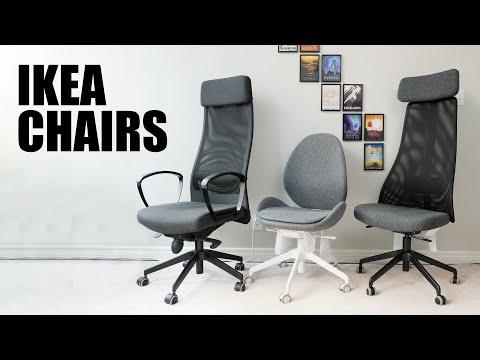 $200 Budget IKEA Office Chairs Comparison - MARKUS, JÄRVFJÄLLET, HATTEFJÄLL