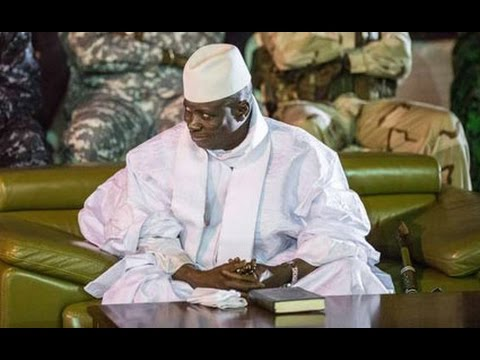 Gambia's Jammeh agrees to step down
