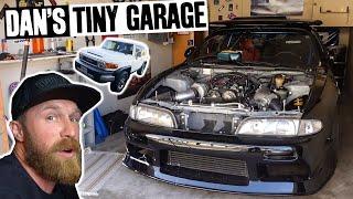 Big Torque, Small Garage: Danger Dan's 2JZ S14 Evolves at his House