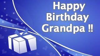 Birthday Wishes for Grandpa | Grandfather Birthday Quotes