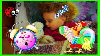 NU O TREZI PE MELISSA!😴😴😴 Provocare cu Copii Mici/Video pentru copii