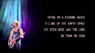 Something's Gotta Give - All Time Low (Lyrics Video)