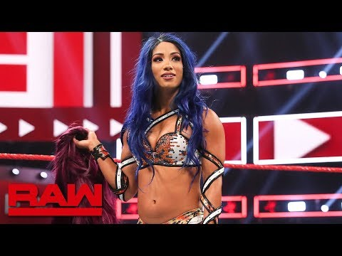 Sasha Banks returns to WWE: Raw, Aug. 12, 2019