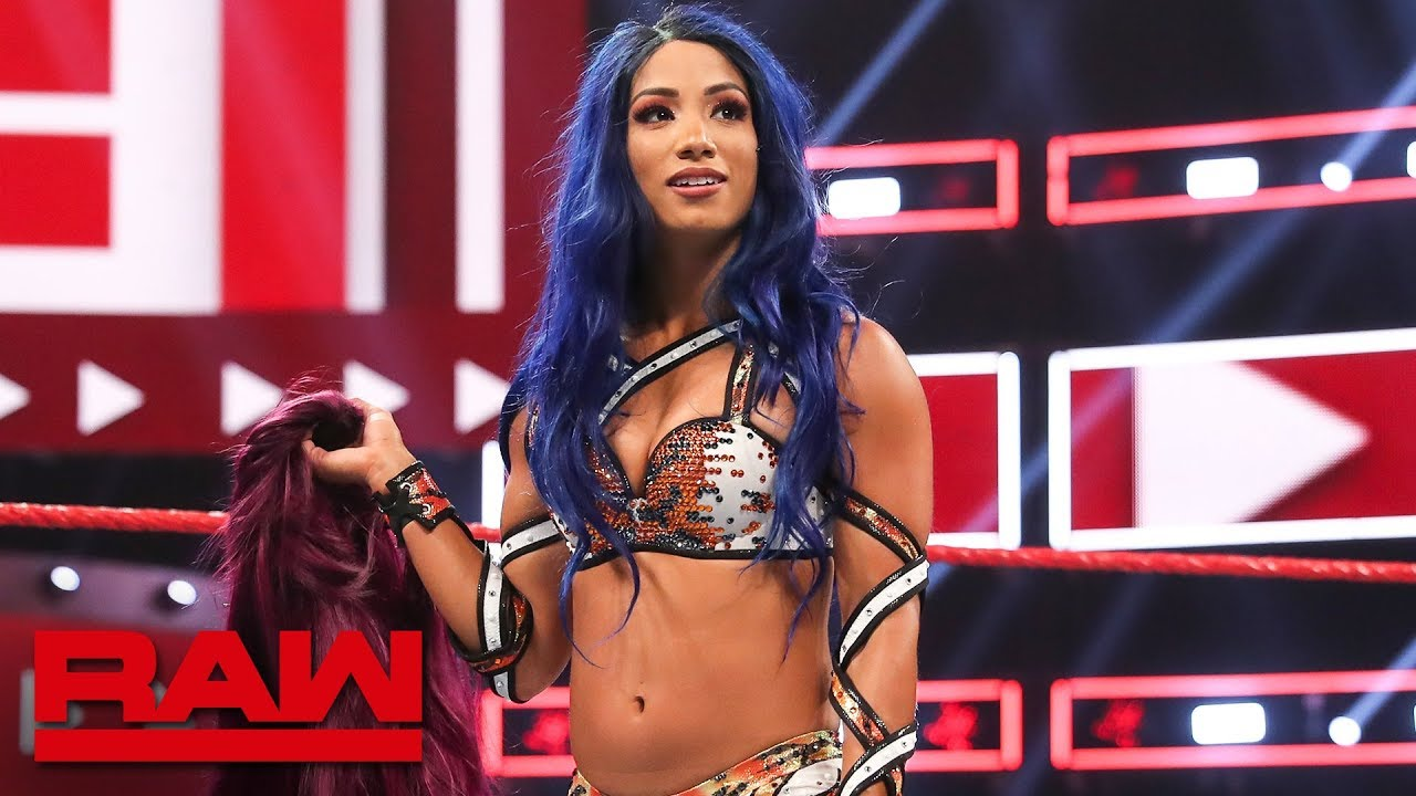 Sasha Banks returns to WWE: Raw, Aug. 12, 2019 Screenshot Download