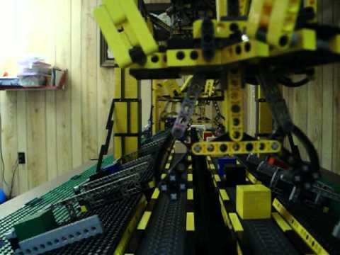 This Automated Lego Assembly Line Robot Is Looking For Work