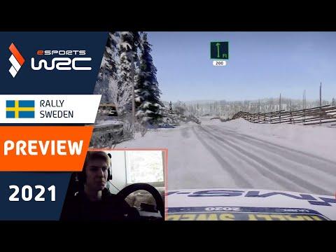 E-sports WRC2021 スウェーデン プレビュー動画1