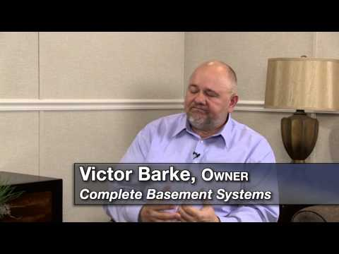 According to Victor, calling his company a Basement Waterproofing Company or even a Foundation Repair Company would simply leave out many of the services provided by Complete Basement Systems of MN, which specializes in solutions for all kinds of problems related to below grade areas.
