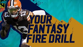 Last-Minute NFL Week 6 Fantasy Advice | Your Fantasy Fire Drill with Matt Camp by Bleacher Report
