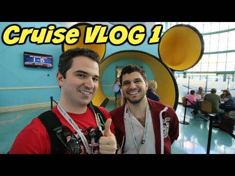 Welcome Aboard the Disney Wonder! 🚢 | Disney Cruise VLOG 1