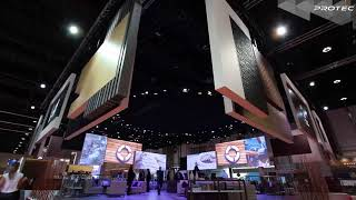 Exhibition Stands Using Automation, Mapping, Robotics And The Latest Event Technology!