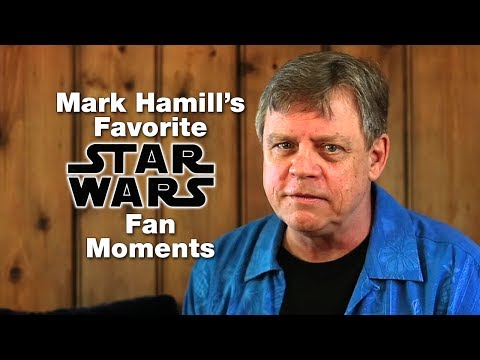 Mark Hamill Shows Us His Favourite Star Wars Fan Moments