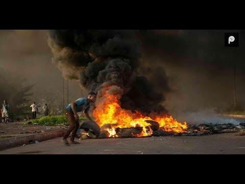Adenta Highway Protests: Police brutality, burnt tyres & more
