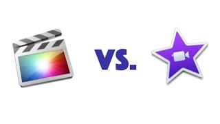iMovie vs. Final Cut Pro X