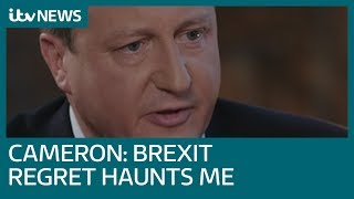 Regretful David Cameron 'sorry about the state the UK has got into' after Brexit vote | ITV News