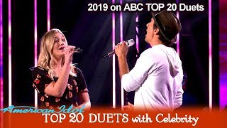 "Ashley Hess & Jason Mraz Duet ""I'm Yours"" COOL VIBE | American Idol 2019 TOP 20 Celebrity Duets"