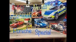 Neu!!!! Porsche Spezial Playmobil *Polizei Porsche 911* #40 ConceptBox