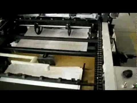 Maquina Offset Smart Numeradora y Perforadora