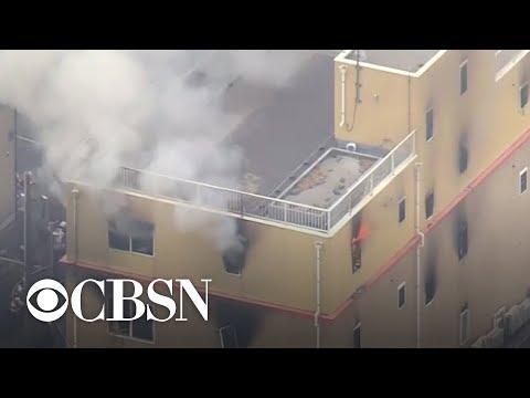 Fire at Japanese animation studio leaves dozens dead