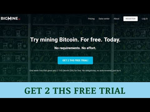 BIGMINE.io отзывы 2019, mmgp, обзор, Bitcoin Mining, GET 2 THS worth $36 FREE TRIAL!