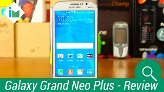 Samsung Galaxy Grand Neo Plus - Review en español