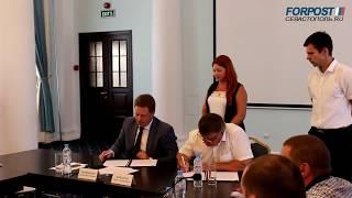 Правительство Севастополя и Совет предпринимателей города подписали соглашение о сотрудничестве
