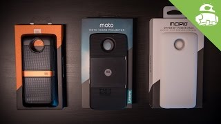 Moto Mods Review: Blast, power, and project in a snap!
