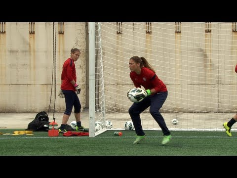 Inside the Lines: U.S. WNT Goalkeepers in Foxborough, Mass
