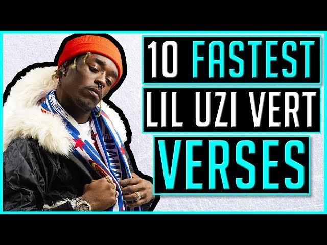 Video Pronunciation of Lil uzi vert in English