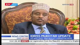 Shot ex-Garissa CEC Mukhtar still unconscious 6 months later, bullet still lodged in head