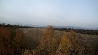 preview picture of video 'Paramotor - Sobrance lietanie nad poliami 25-10-2013 - ActionPro X7 - Miniplane TOP 80'