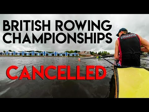 BRITISH ROWING CHAMPIONSHIPS CANCELLED + GIVEAWAY RUNNERS UP