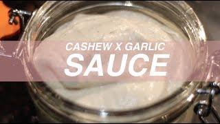 CASHEW AND GARLIC DRESSING