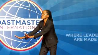 'Put it in Perspective' Sylvia Baffour, Toastmasters International