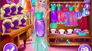 Frozen Game Elsa Queen Makeup, Dress up and Spa  - Giúp nữ hoàng Elsa chọn đồ