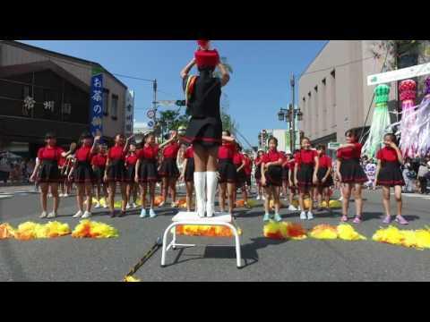 山目小学校スクールバンド(一関夏まつり2016.8.5)