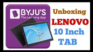 Byju's Learning App Kit with Lenovo Tab 4 10 HD | Dolby Atmos | Unboxing - dooclip.me