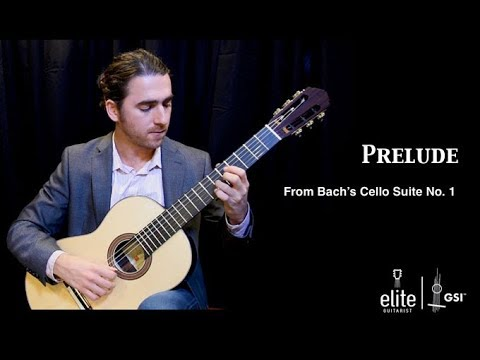 Elite Guitarist Tutorial – Bach Prelude from Cello Suite 1