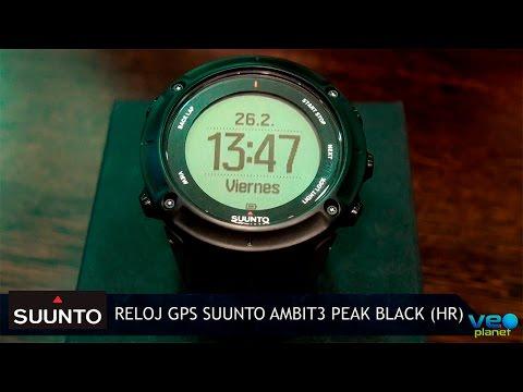 El reloj GPS definitivo: Suunto Ambit3 Peak