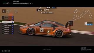 Gran Turismo™SPORT - Autodrome Lago Maggiore GP II Porsche RSR Gr3 (online race) v2