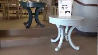 HGTV Furniture Accents Round Accent Table Review