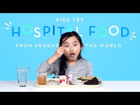 Kids Try Hospital Food From Around The World | Kids Try | HiHo Kids