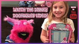 DISNEY DOORABLES VIDEO ONE-TOY WORLD WEEKLY