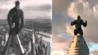 King Kong - Comparando 1933 - 2005