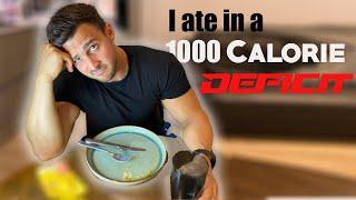 I ate in 1000 calorie deficit  *2500 CALORIES | Diet Tips