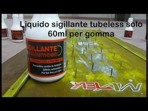Sigillante Tubeless Schiumoso Antiforatura Actifoam - STOP ALLE FORATURE